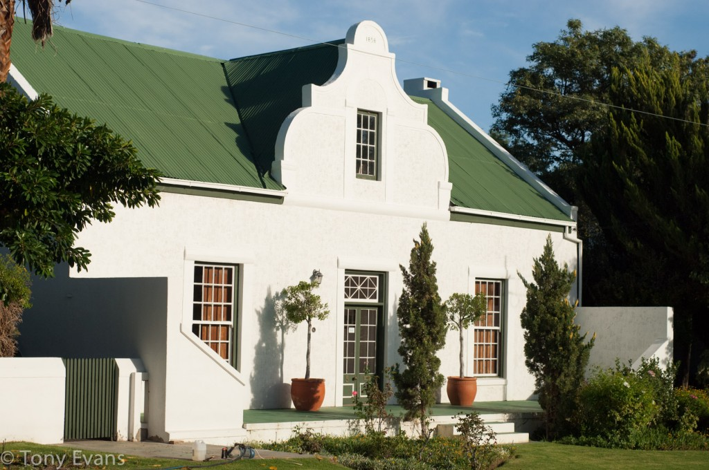 Beautiful Cape Dutch style houses