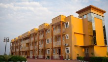 Front view of the new apartments